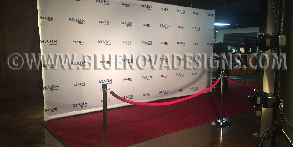 Step and Repeat Banner for Party