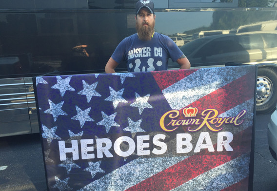 Heroes Bar Fabric Cover