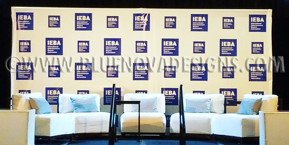 Stage Backdrop Step and Repeat Banner
