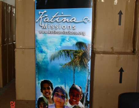 Katinas Roll Out Banner
