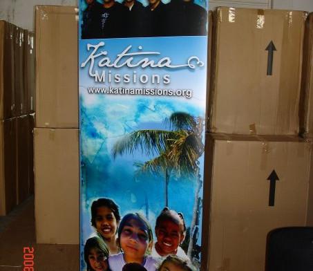 Katinas Roll Out Banner