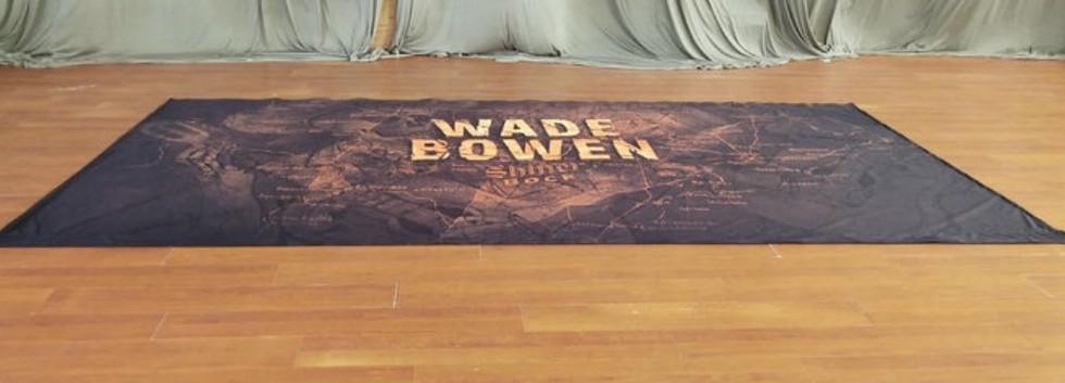 Wade Bowen Grand Format Printed Backdrop