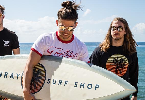 Surfboard Wrap