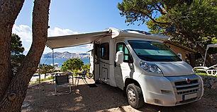 Camping in Baska
