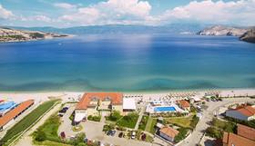 Blick auf die Bucht von Baska