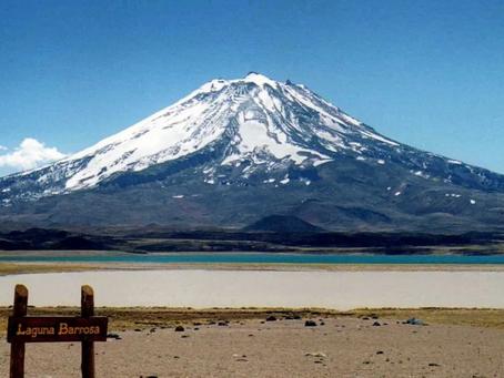 Un OVNI dans les Andes le jour du printemps
