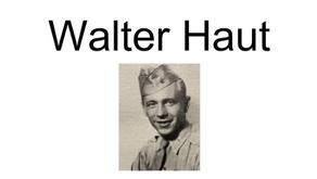 La confession du lieutenant Walter Haut sur son lit de mort