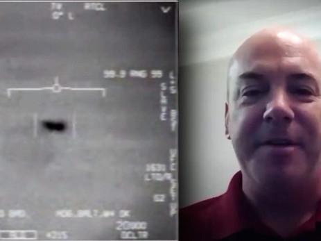 Le pilote de la marine qui a enregistré la vidéo du Tic Tac parle pour la première fois