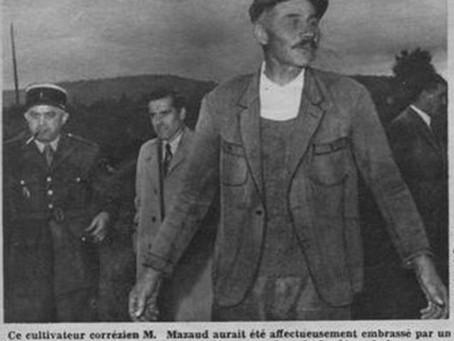 """Document """"c'est pas d'hier"""" : 1954 : OVNI à Bugeat en Corrèze"""