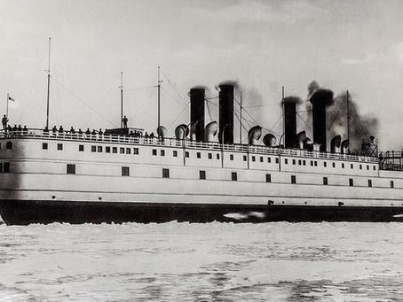 1936 : Observations d'un probable OANI dans l'océan Pacifique