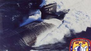 Rencontre d'un OVNI en forme de V avec un sous-marin nucléaire américain