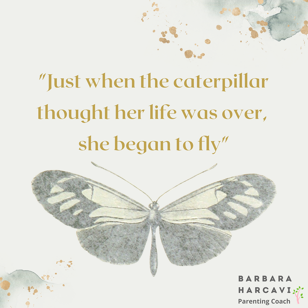 the caterpillar thought her life was over