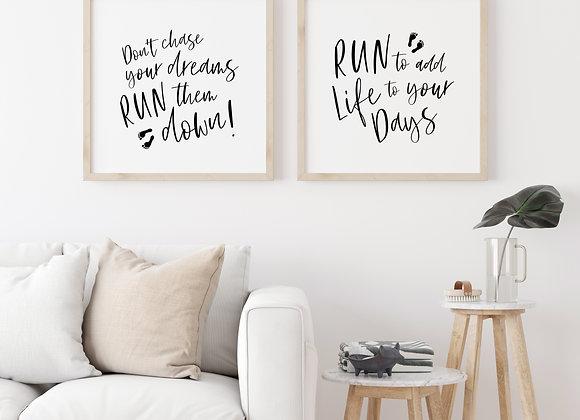 Run Prints