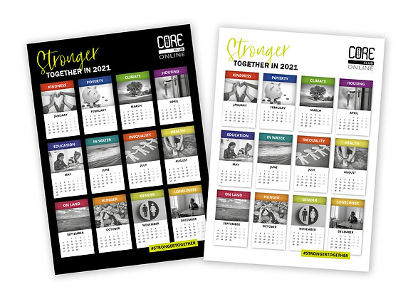Stronger Together Calendar - Digital Download