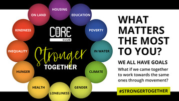 #StrongerTogether 2021 Social Interaction Campaign
