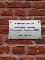 ANTON cabinet plaque