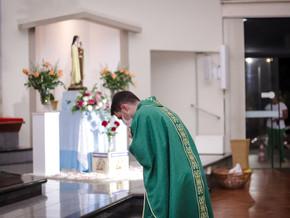 6° dia da novena em honra a Santa Teresinha do menino Jesus
