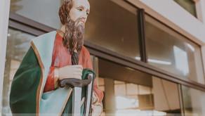 Missa do Padroeiro e despedida do Padre Eurico