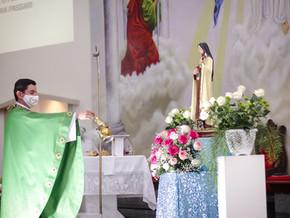 5° dia da novena em honra a Santa Teresinha do menino Jesus