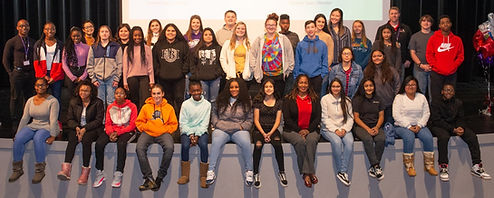 UBMS Collinsville Induction Photo (SIUE-