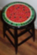 WatermelonStool.JPG