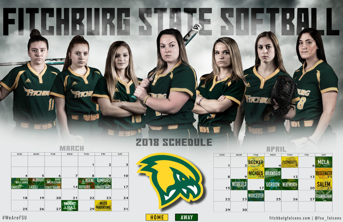 Fitchburg State Softball Poster | March 2018