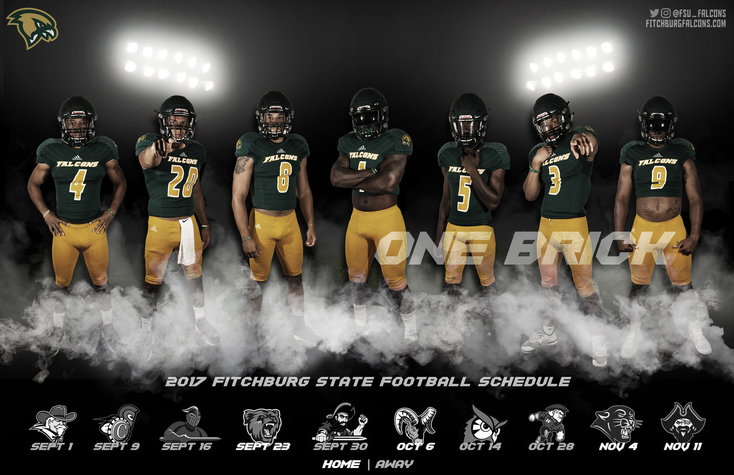 Fitchburg State Football Poster | September 2017