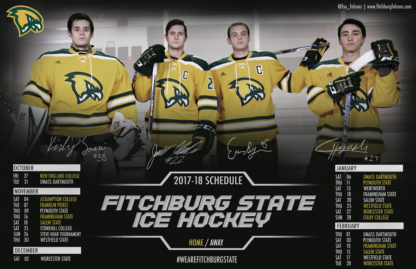 Fitchburg State Men's Hockey Poster | November 2017
