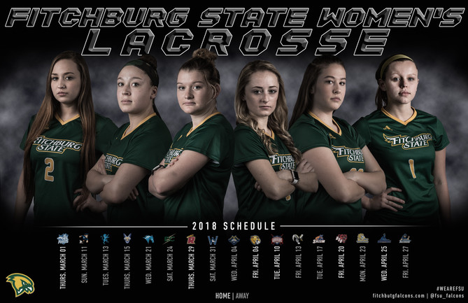 Fitchburg State Women's Lacrosse Poster | March 2018
