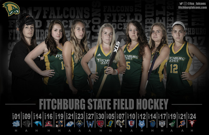 Fitchburg State Field Hockey Poster | September 2017