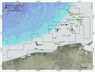 Pemex announced the discovery of new hydrocarbon deposits in the Gulf of Mexico