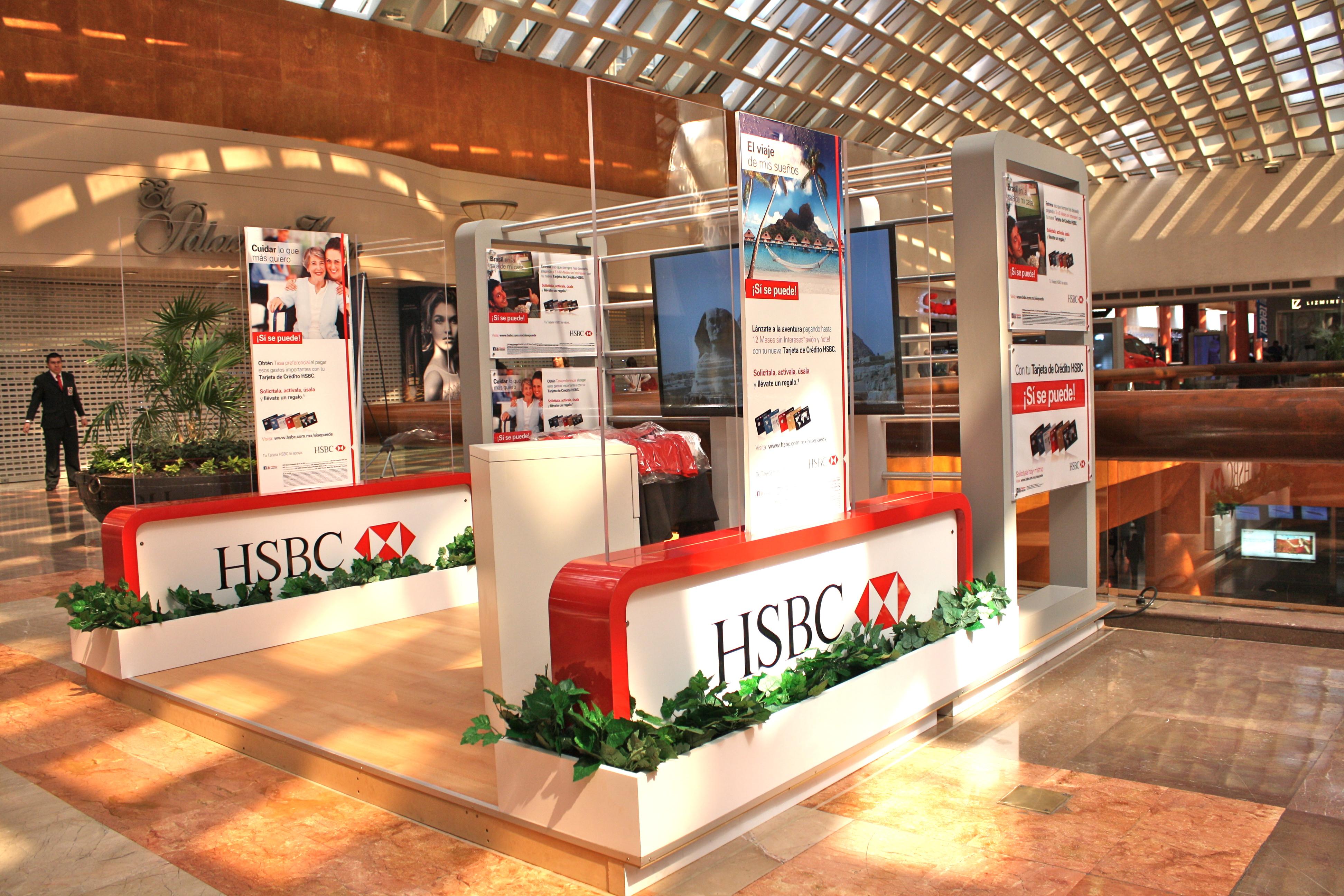 Stand y activación HSBC