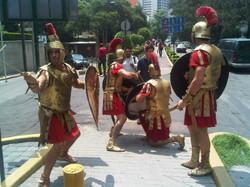 Lanzamiento de la serie Spartacus