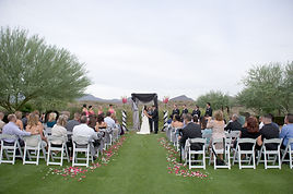 Arizona Wedding DJ Ramsey Bergeron handles music for bot ceremonies and receptions