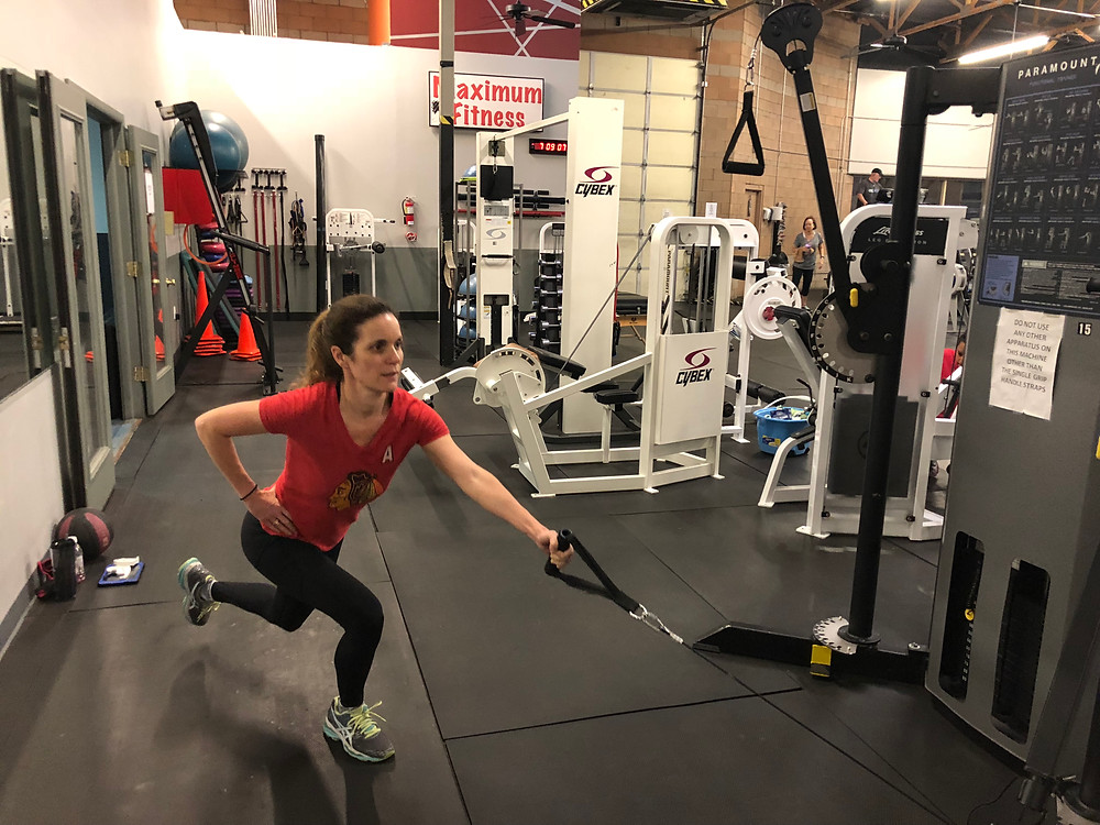 Compound Exercise at Bergeron Personal Training