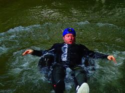 Black water rafting