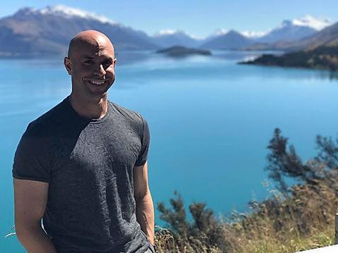 Ramsey Bergeron in New Zealand