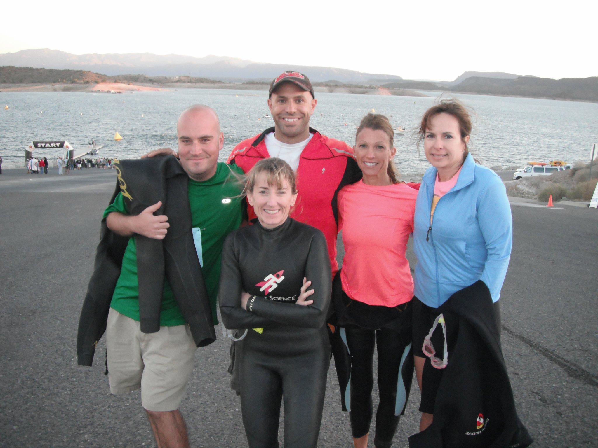 Bergeron training triathlete clients