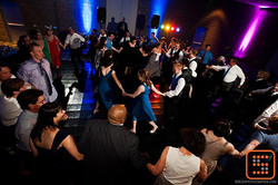 Full Dancefloor at Wedding Reception