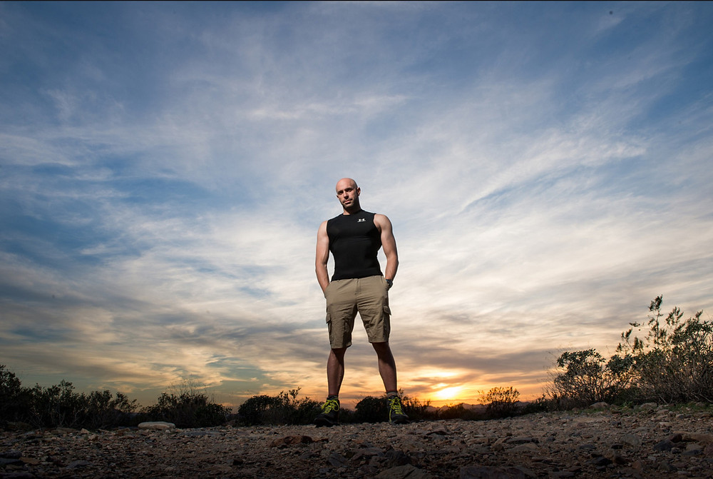 Ramsey Bergeron, owner of Bergeron Personal Training, a premier personal training and life coaching business inn Scottsdale, Arizona.