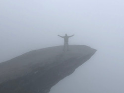 Foggy at Trolltunga
