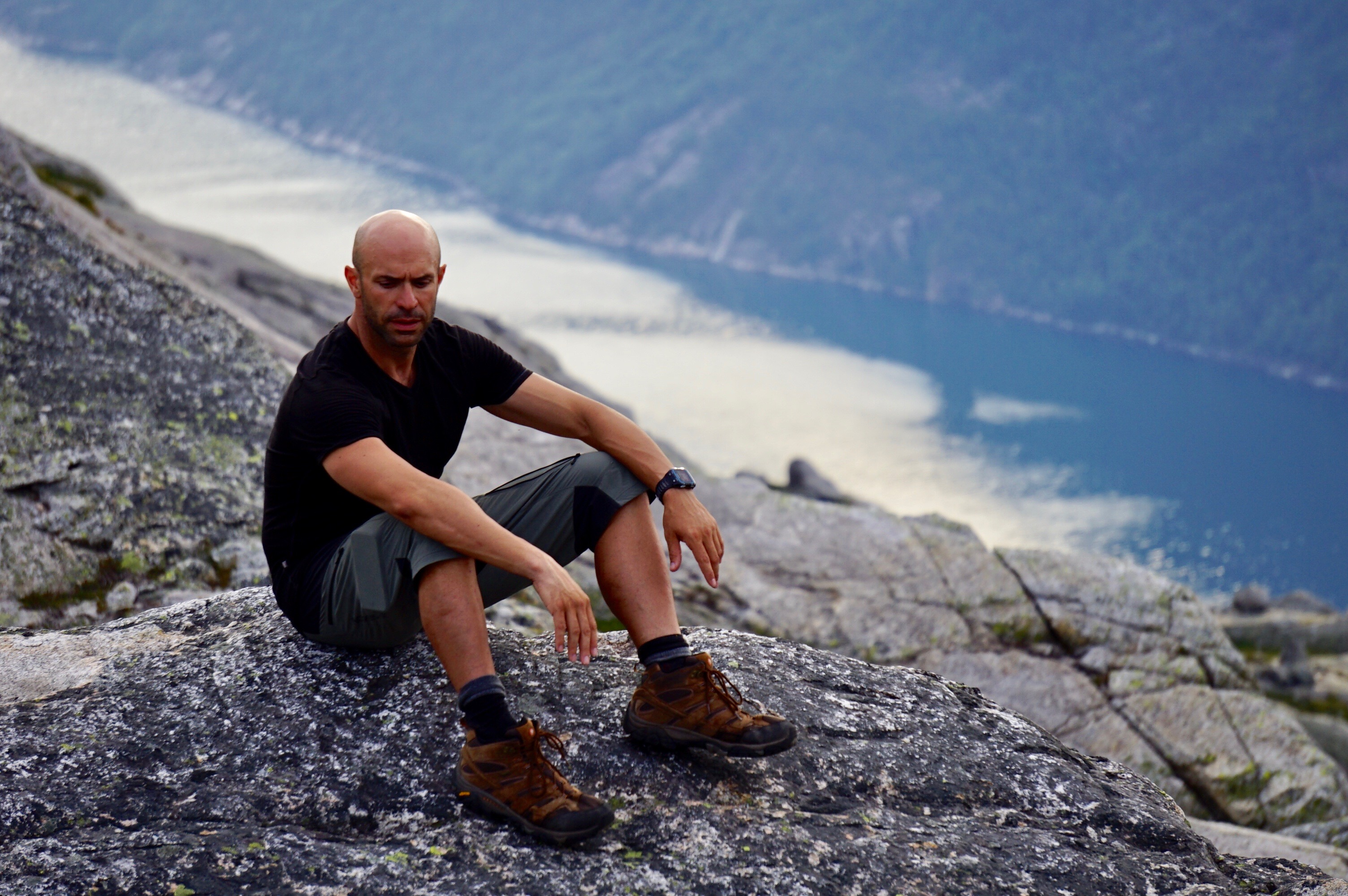 Hiking the Lysefjord