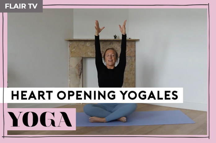 Heart opening yogales