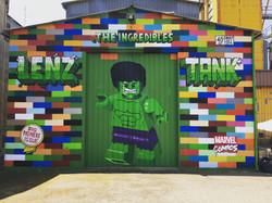 The incredibles LENZxTANK