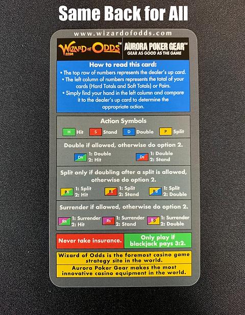 Wizard of odds easy blackjack rules