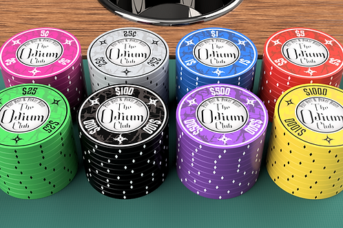 Odium Club - 100 Poker Chips