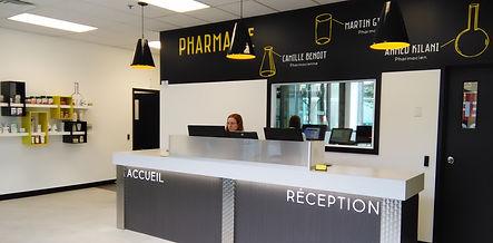 Pharmacie POSO + Martin Gilbert Montréal