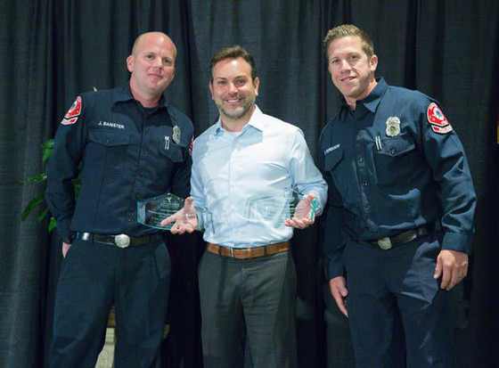 Rincon Firefighter/Paramedics Honored in Escondido