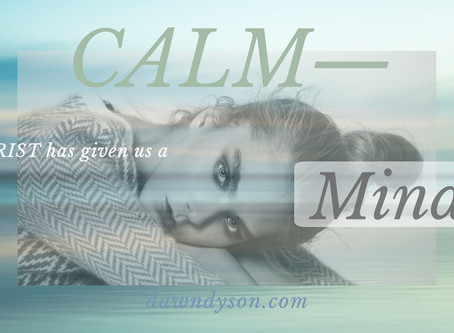 The Simplicity of Christ: Moving from Chaos into Calm