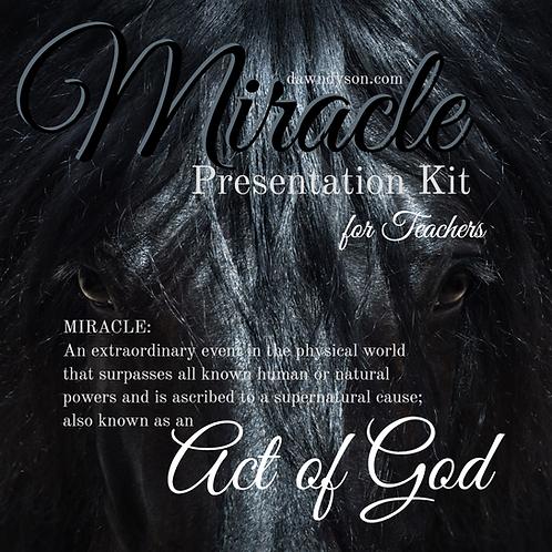 Miracle: Presentation Kit